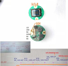 Chirurgische endoscoop camera PCB module, HD SDI 1080P medische camera chip en recorder DVR video thoracoscope ENT endoscopie