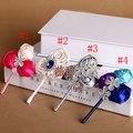 Boda ramillete DIY colores 100% hecho a mano de perlas y diamantes de imitación de novia y del novio boutonniere personalizable