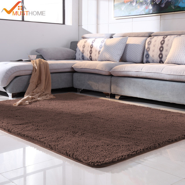 100x120cm 39 X47 Microfiber Chenille Modern Rugs And Carpets For Bedroom No