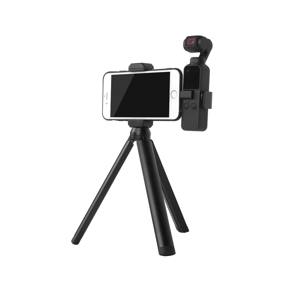 OSMO Pocket Smartphone Fixing Bracket Stand Clamp Extending Rod Tripod for DJI OSMO POCKET Gimbal Accessories 23