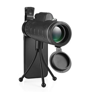 Image 2 - 40x60 HD Zoom Mobile Cell Phone Lens Monocular Scope Monoculars Telescope With Tripod  and Clip for IPhone Sumsung Smartphone