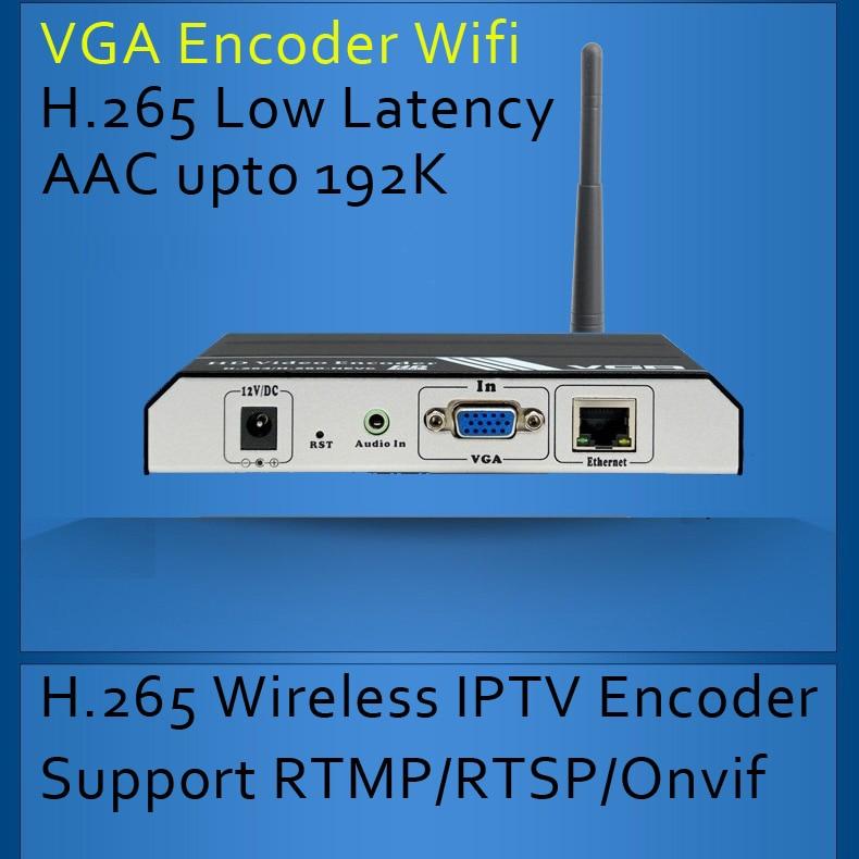 H.265 Бездротовий VGA Ebcoder з Wifi для IPTV - Домашнє аудіо і відео