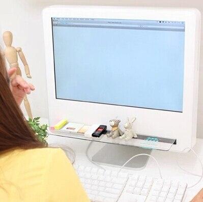 2db / set Keyboard Shelf Többfunkciós asztali tárolóállvány - Szervezés és tárolás - Fénykép 5