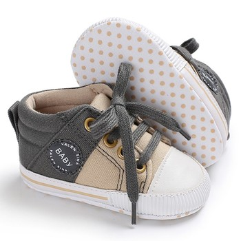 Baby Shoes Classic Canvas Baby Boy Shoes Spring Cotton Straps Stitching Newborn Boy Girl Shoes First Walker Prewalker 1