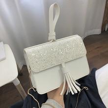 Female Crossbody Tote Bags For Women 2019 Quality Leather Luxury Handbags Designer Sac Main Ladies Tassel Shoulder Messenger Bag цена