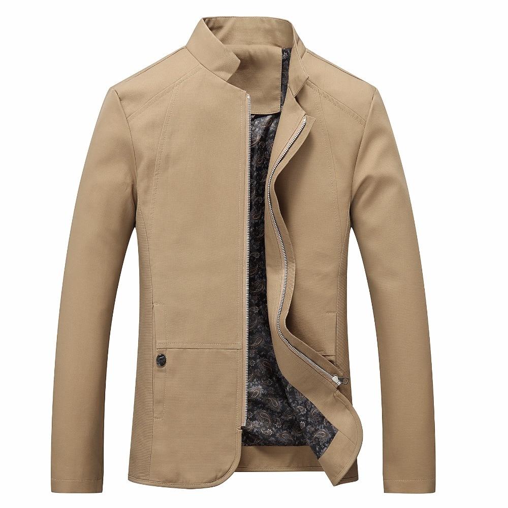 2018 Brand New Spring Autumn Men Casual font b Jacket b font Coat Men s Fashion