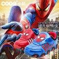 J.g Chen moda Spiderman Flash crianças sapatos 2015 outono sapatos de crianças para crianças meninos meninas