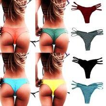 Black Friday Deals Women Brazilian Cheeky Bikini Bottom Thon