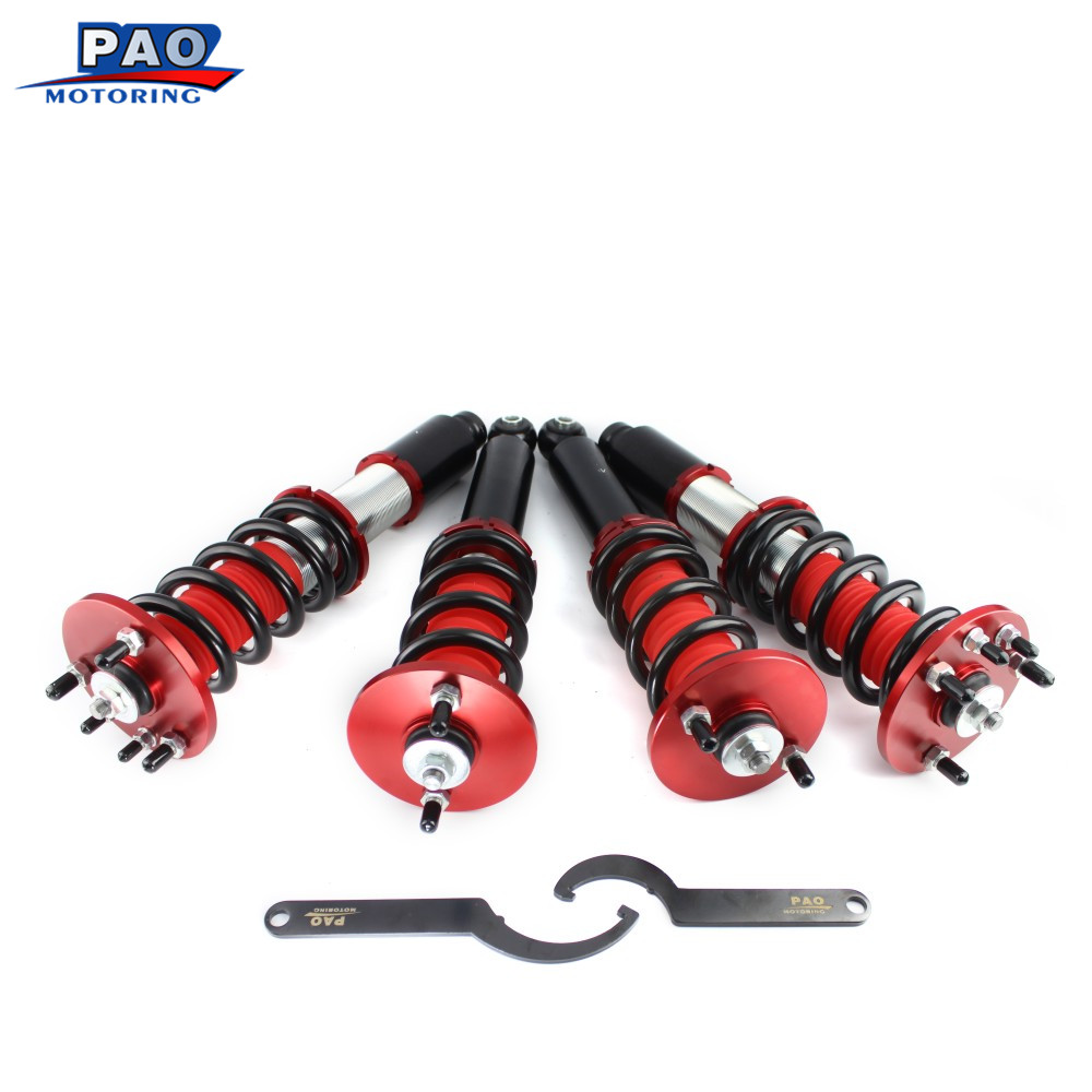 Coilover Spring Kit for Honda Accord 98 02/Acura CL 01 03 Non Adjustable  Damper Shock Absorber Coilover Shock Strut Kit-in Shock Absorber Parts from  ...