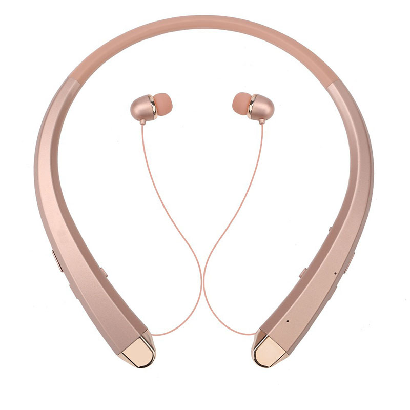 Fashionable Bluetooth Headset Wireless Neckband In-ear Sport Headphones Stereo Telephone Earphones With Microphone For Phone