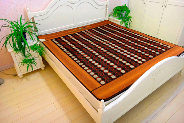 Mix Jade Stone Jade Mattress Germanium Mattress Tourmaline Far Infrared Mattress Size: 1.2X1.9M Free Shipping