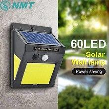 Home Garden Wall-Lamp Solar-Light Motion-Sensor Outdoor LED Street Waterproof PIR Human-Body