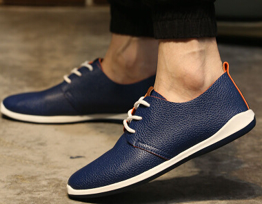 ab979cb219b64 The new summer fashion business casual shoes popular minimalist retro  British Style Men's shoes breathable outdoor students-in Men's Casual Shoes  from Shoes ...
