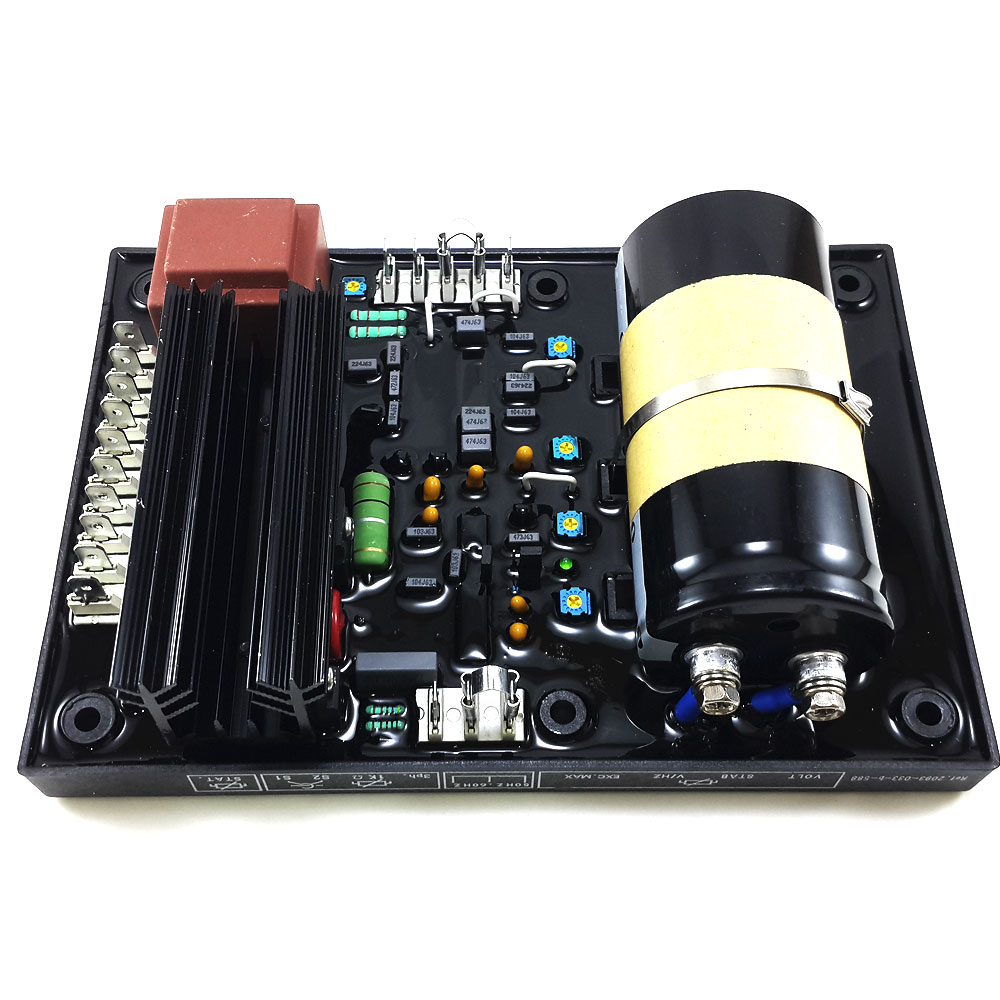 Generator Parts Automatic Voltage Regulator AVR R449 automatic avr r449 voltage regulator for cummins 900 kva generator