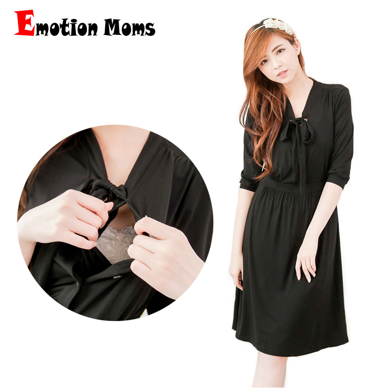 Emotion Moms maternity clothes maternity Dresses pregnant dress nursing Dress Breastfeeding pregnancy clothes for Pregnant Women