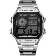 Casio Watch Waterproof Leisure Sports Men s Watch AE 1200WHD 1A AE 1200WHB 1B AE 1200WHB