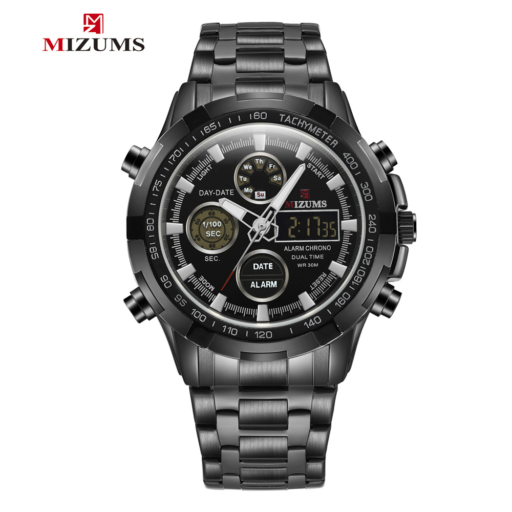 Quartz Digital Black Watch Men Sports Watches Man Luxury Mens Wristwatches Casual Male Clock Waterproof Sport erkek kol saati Quartz Digital Black Watch Men Sports Watches Man Luxury Mens Wristwatches Casual Male Clock Waterproof Sport erkek kol saati
