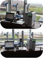 CNC Alemanha IPG tag do metal máquina de marcação a laser de fibra de aço inoxidável com 10 w 20 w 30 w 50 w