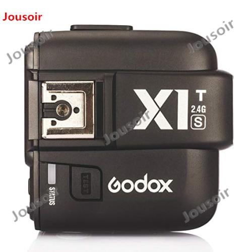 Godox X1T-S TTL 1/8000s 2.4G Transmitter Trigger + 3x XTR-16S Receivers Set For S Cameras Godox V850 V860  CD50