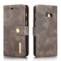 For Samsung A3 2017 Case Multifunction Detachable Genuine Leather Case For Samsung Galaxy A3 2017 Wallet