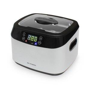 Image 3 - Limpiador ultrasónico Digital para joyería y relojes, con cestas, limpiador Dental de 1,2 L, 70W, 40kHz, 220V/110V, ultrasónico para Baño