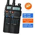 2016 Оригинал UV-8HX Baofeng УФ-5R 5R рации Dual band VHFUHF двухстороннее радио 136-174/400-520 радиолюбителей Портативной Рации 2 шт./set