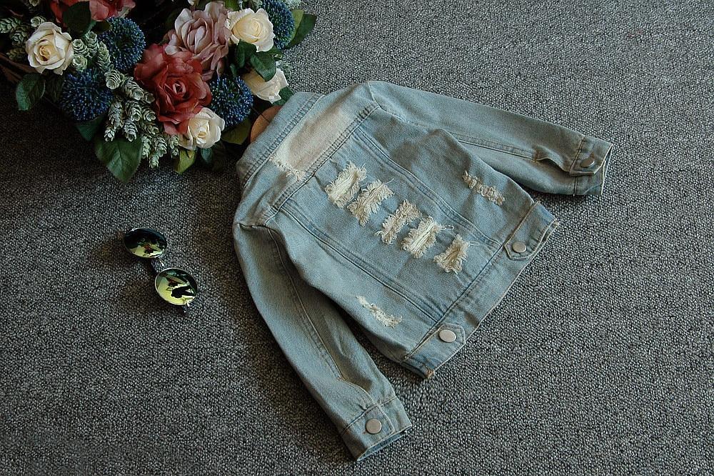 # J-3 Neue Frühling Herbst Kinder Kleidung Kind Kleidung Baby Mädchen Oberbekleidung Mantel Jacken Kinder Tops Jeans Tragen Denim bosudhsou. Obebekleidung & Mäntel