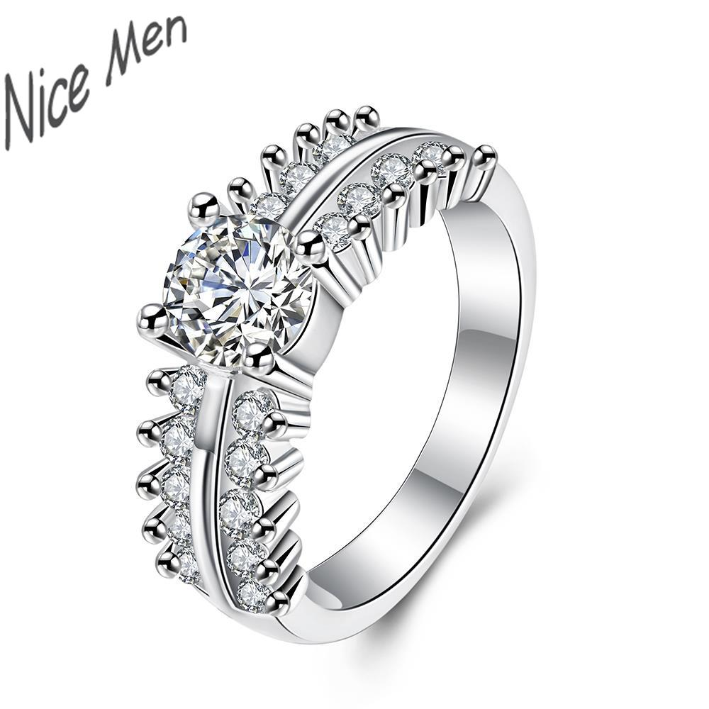queen crown nice ring gift box free R713 8 Hot sale Newest ...
