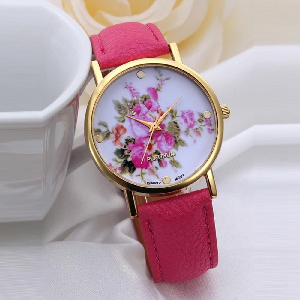 Новые женские модные часы сердечком
