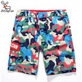 ZiLingLan Camouflage Causal Shorts Men's Quick Dry Shorts Men Shorts Fit Beach Sea Trousers Board Shorts Tide Brand Top Quality