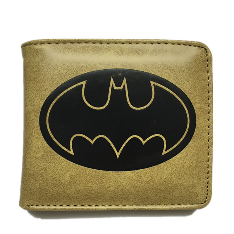 Fashion Cute Cartoon Wallet Batman Dragon Ball Spider-Man Harry Potter Card Holder Short Wallets Dollar Price Pures Money bags dragon ball z wallet young men and women students anime fashion short wallets japanese cartoon comics purse dollar price