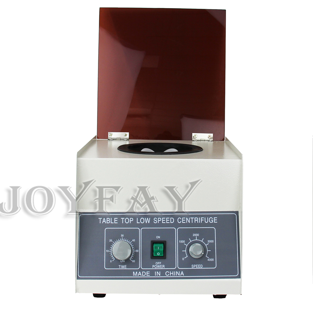 Electric Lab Centrifuge LD-4 Tabletop Centrifuge W/ Timer 4000 rpm 100 ml x 4 ld 100% ld015