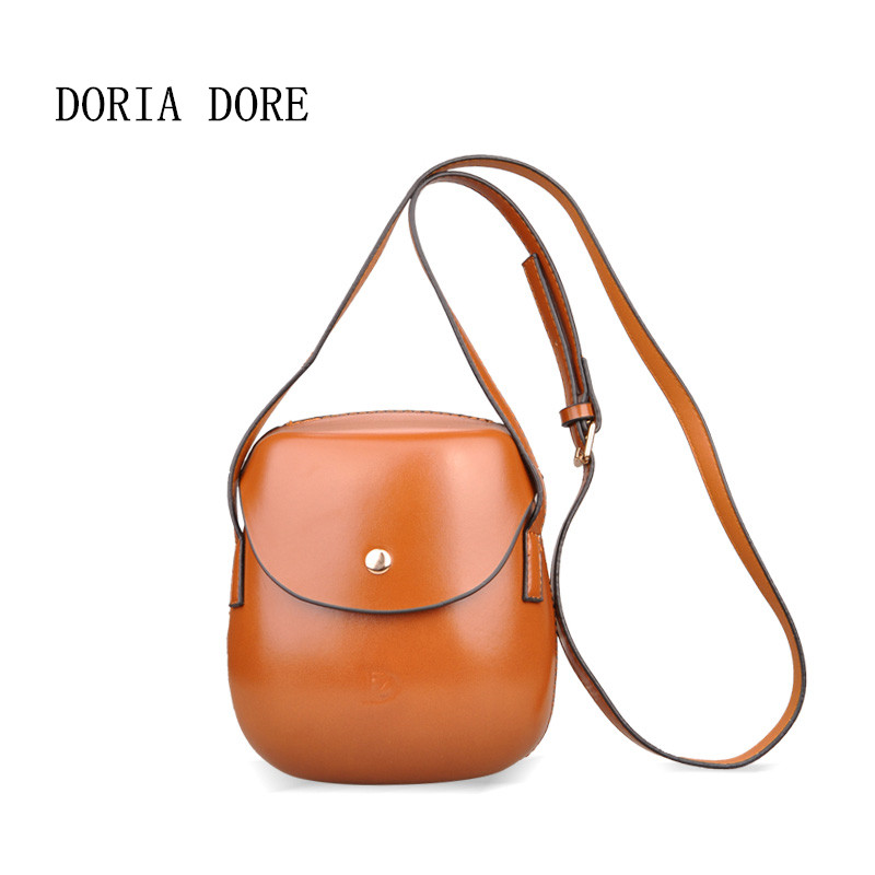 DORIA DORE 2017 New Women Messenger Bag Fashion Mini Cluth Shell Shape Crossbody Bag Lady PU Leather Shoulder Bags Free Shipping fashion women mini messenger bag pu leather shell shape bag crossbody shoulder bags with deer toy popular