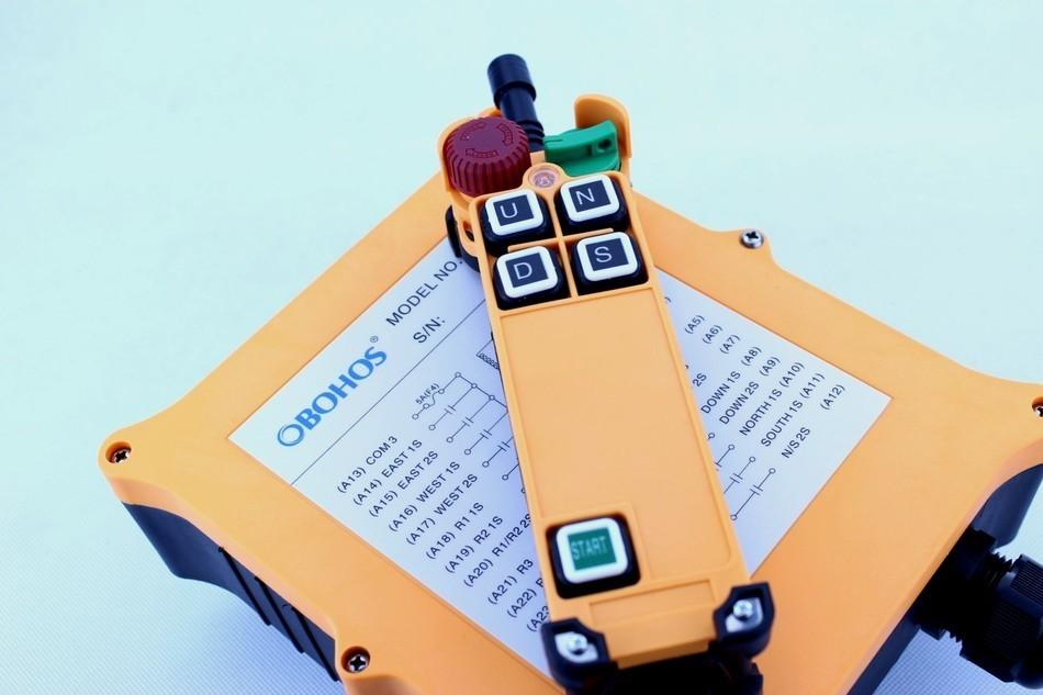 New Arrivals crane industrial remote control HS-4D wireless transmitter push button switch China malìparmi юбка длиной 3 4
