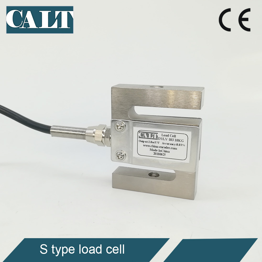 Free Shipping CALT DYLY-103 S Type Load Cell Capacity 5 10 20 <font><b>30</b></font> 50 100 200 300 <font><b>500</b></font> KG Kilos Weighing Sensor Force Hopper Scale image