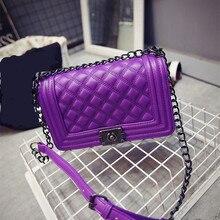 Golden Finger Brand Crossbody Bags Diamond Lattice Women Bag Designer Handbags High Quality Chain Ladies Women Messenger Bag