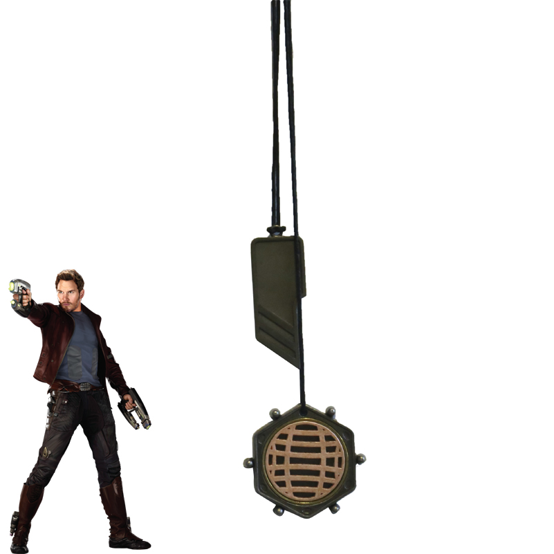 Guardians Of The Galaxy 2 Cosplay Accessory Peter Jason Quill Star-Lord Necklace Cosplay Star Lord Accessories