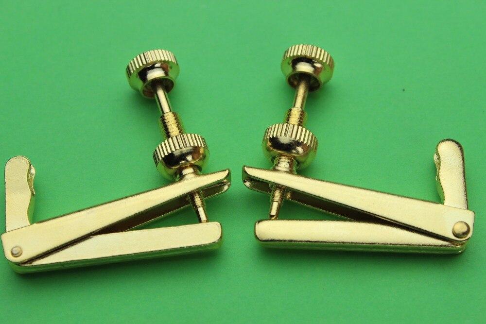 20pcs New golden Cello String Adjuster fine tuners Cello Parts