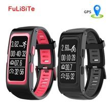 Gps браслет T28 Smart Band динамического сердечного ритма взрослых Смарт часы GPS локатор Температура Bluetooth Wristand фитнес-трекер