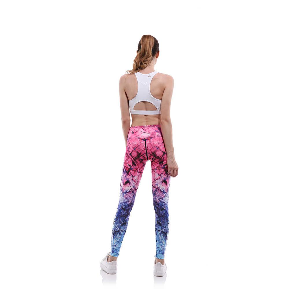 b8602eeeaa ... Buteefull High Waist Pants Fitness Leggings 3D PINK blue Print Fitness  Women Clothing Women Pants XXXL ...