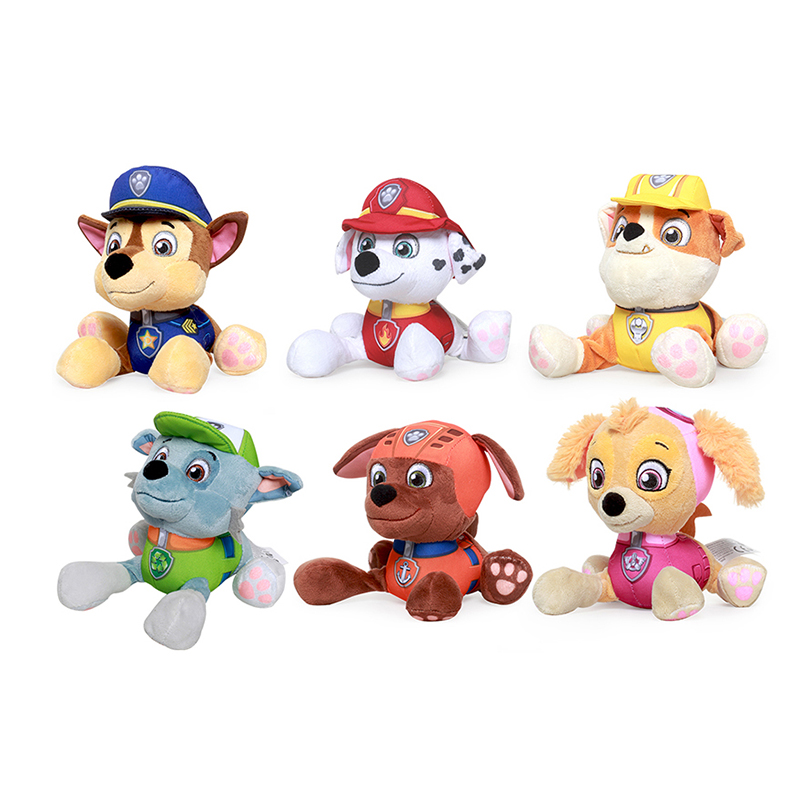 Paw Patrol Dog Plush Doll Anime Kids Toys Puppy Toy Action Figure Plush Doll Model Stuffed and Plush Animals Toy gift