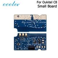Ocolor Para Oukitel C8 Telefone Porta USB Placa de Carga Plugue USB Com Cabo Flex Substituição PCB Para Oukitel C8 Móvel acessório do telefone