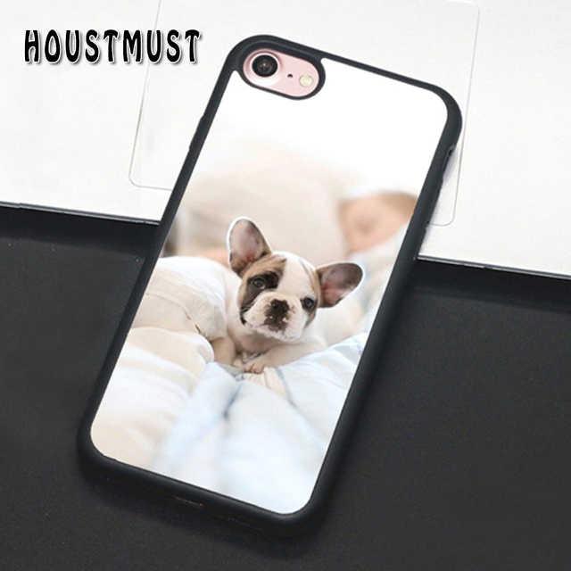 HOUSTMUST французский щенок бульдога собака чехол Чехол для iPhone 5 5S SE 6 6 S 7 8 X XR XS max samsung galaxy S6 S7 край S8 S9 S10 плюс