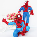 22cm 1pc HIGH QUALITY new hot Marvel Comics item Spider-Man movie figure soft stuffed spiderman plush toy doll for boy birthday