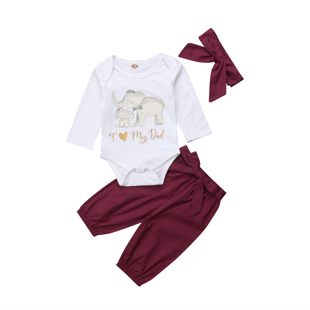 2pcs Spring Newborn Baby Clothing Set Long Sleeve Sweatshirt Pants Outfits F07#