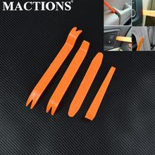 DIY plastikowe podważ narzędzie do usuwania panelu na samochodowy sprzęt audio wnętrze LED Light Radio Door tanie tanio MACTIONS 0inch Kawasaki DUCATI Harley-davidson Yamaha Zwycięstwo Suzuki Aprilia Honda Triumph Plastics 0 05kg Obejmuje listew ozdobnych