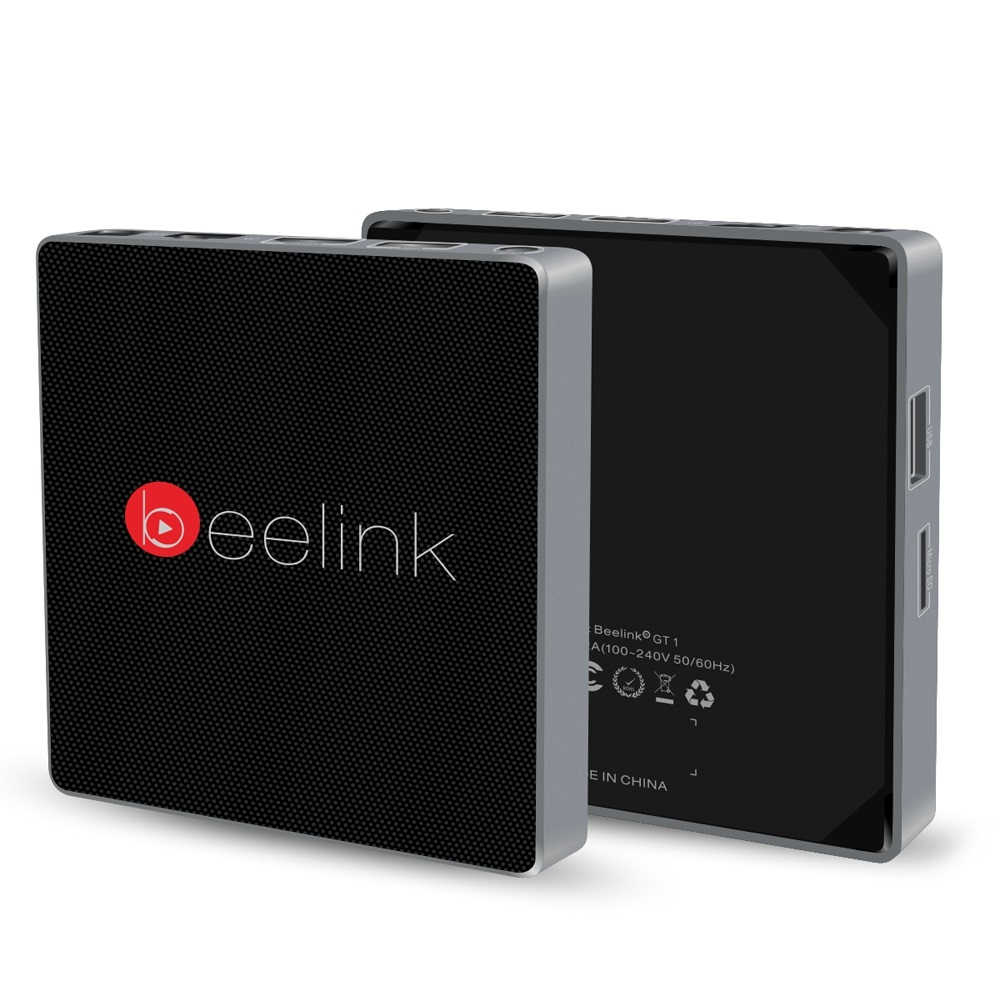 ФОТО Original Beelink GT1 TV Box 4K Amlogic S912 Octa Core Android 6.0 2.4G + 5.8G Dual WiFi BT 4.0 2G DDR3 RAM 16GB Set top