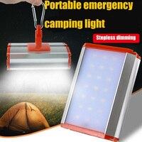 Camping Light Emergency Camping Lantern 21LED Portable Hanging Tent Light Dimming Aluminum alloy USB Power Bank Camping Light