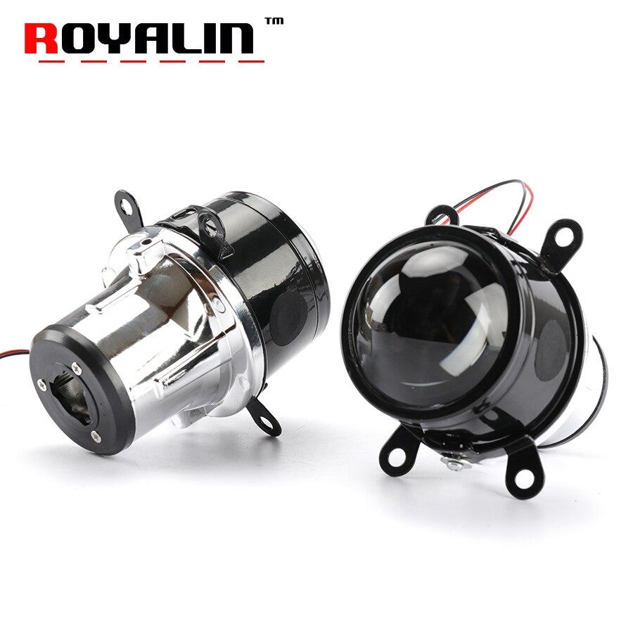 ROYALIN 2,5 дюймов Противотуманные фары объектив проектора H11 лампы Привет/Lo луч Биксеноновая HID автомобиль-Стайлинг универсальный модернизации...