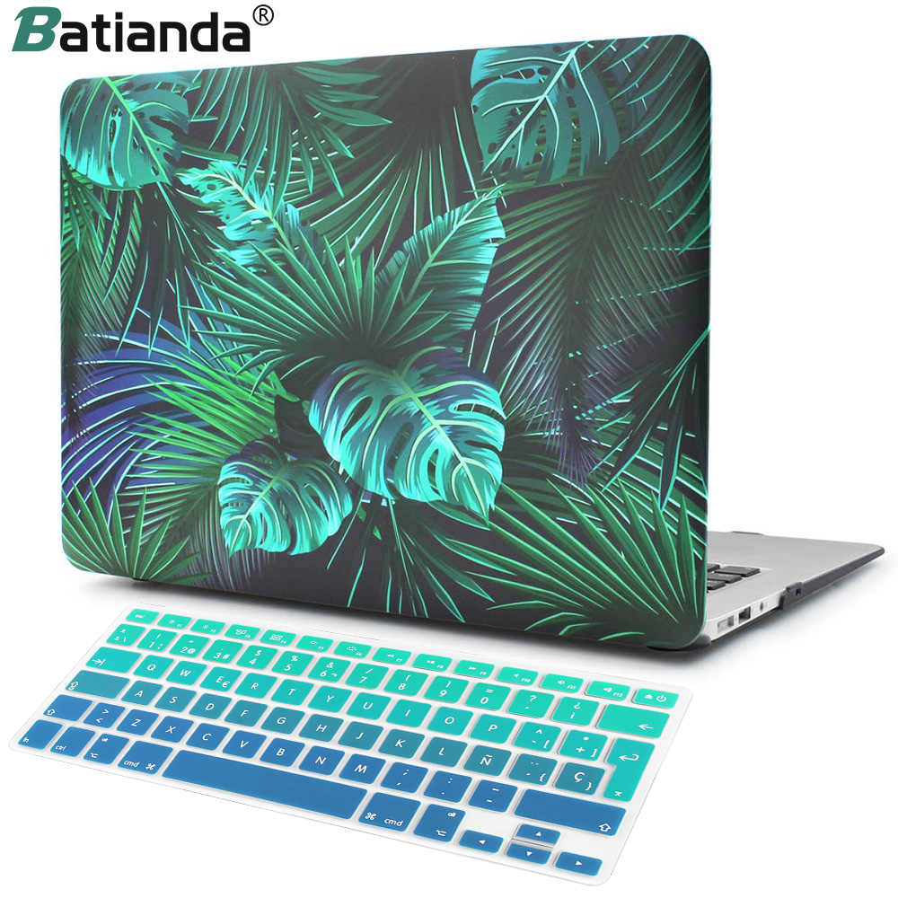 "Laptop Case untuk MACBOOK AIR 13 11 Pro 13 15 Touch Bar 2020 A2251 A2289 MAC BOOK 12 15 ""2019 A1708 A2159 A2179 Cangkang Keras Cover"